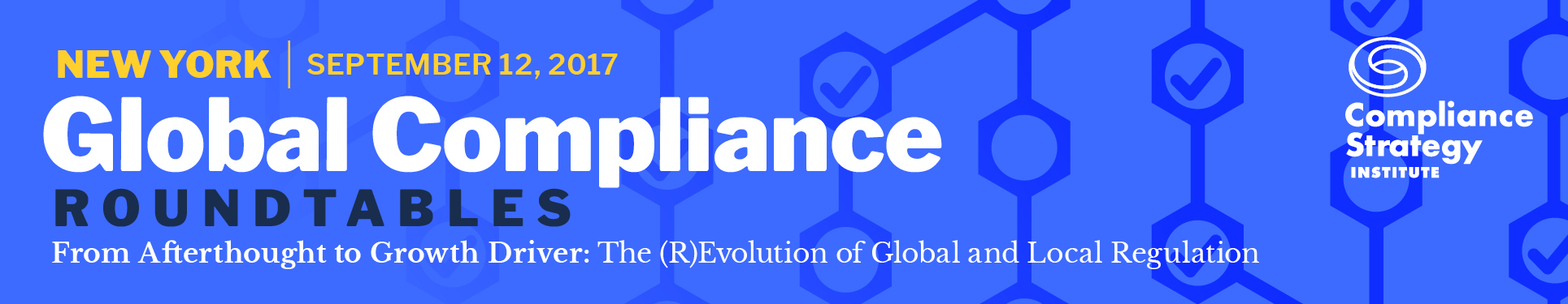 Global Compliance Roundtable, New York