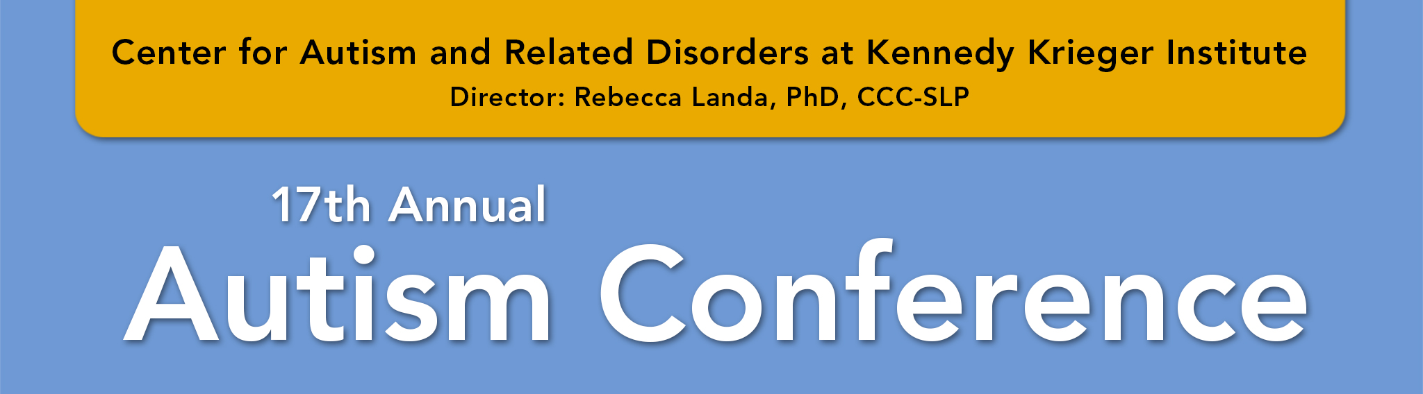 17th Annual Autism Conference
