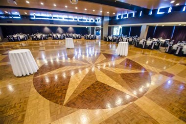 Grand ballroom dancefloor