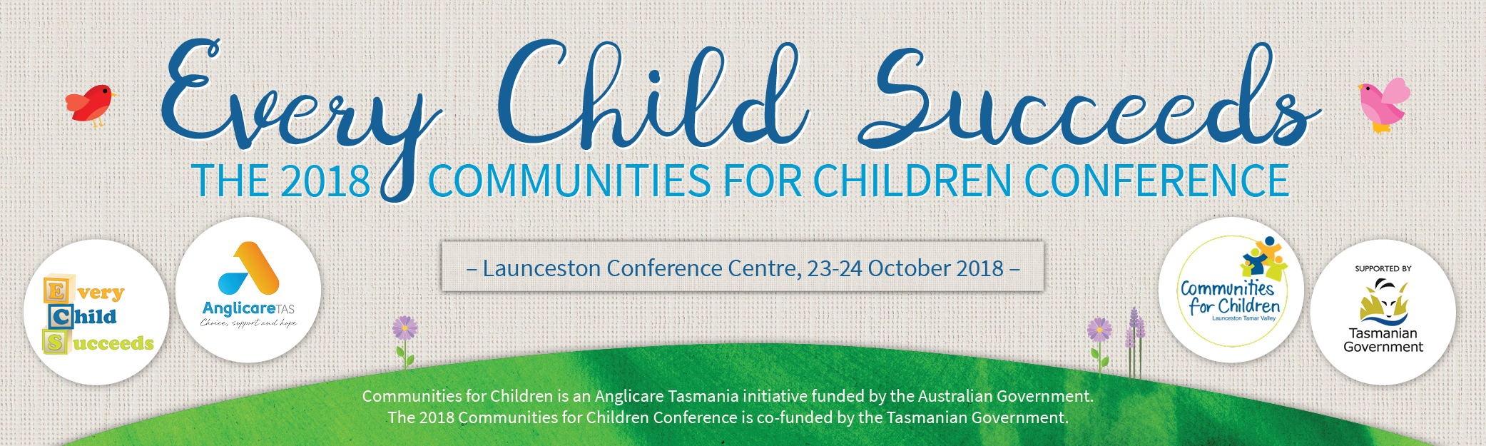 Communities for Children Conference 2018: Every Child Succeeds