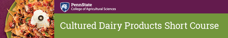 2019 Cultured Dairy Products Short Course