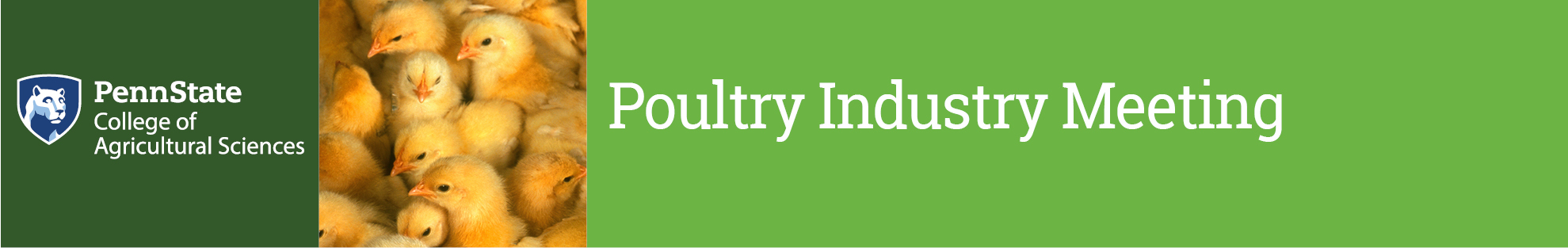 Penn State and Poultry Industry Meeting