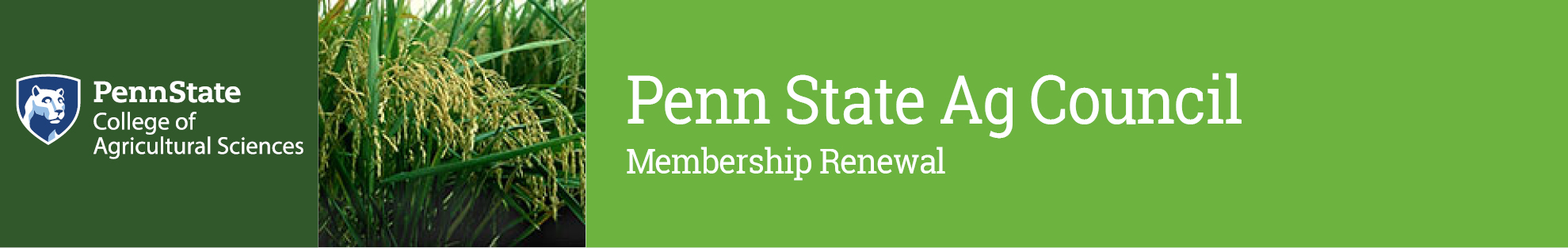 Penn State Ag Council - 2017 Membership Renewal