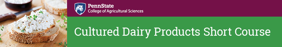 2020 Cultured Dairy Products Short Course