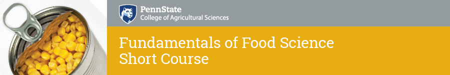 Fundamentals of Food Science Short Course