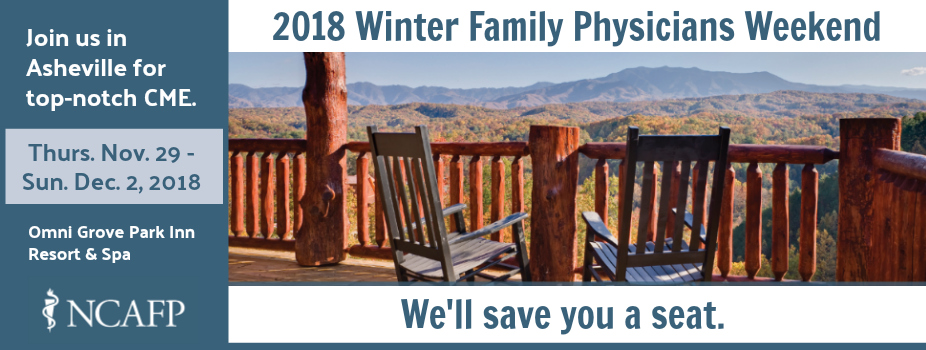 The 2018 Winter Family Physicians Weekend