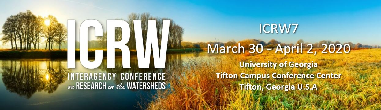 7th Interagency Conference on Research in the Watersheds (ICRW7)