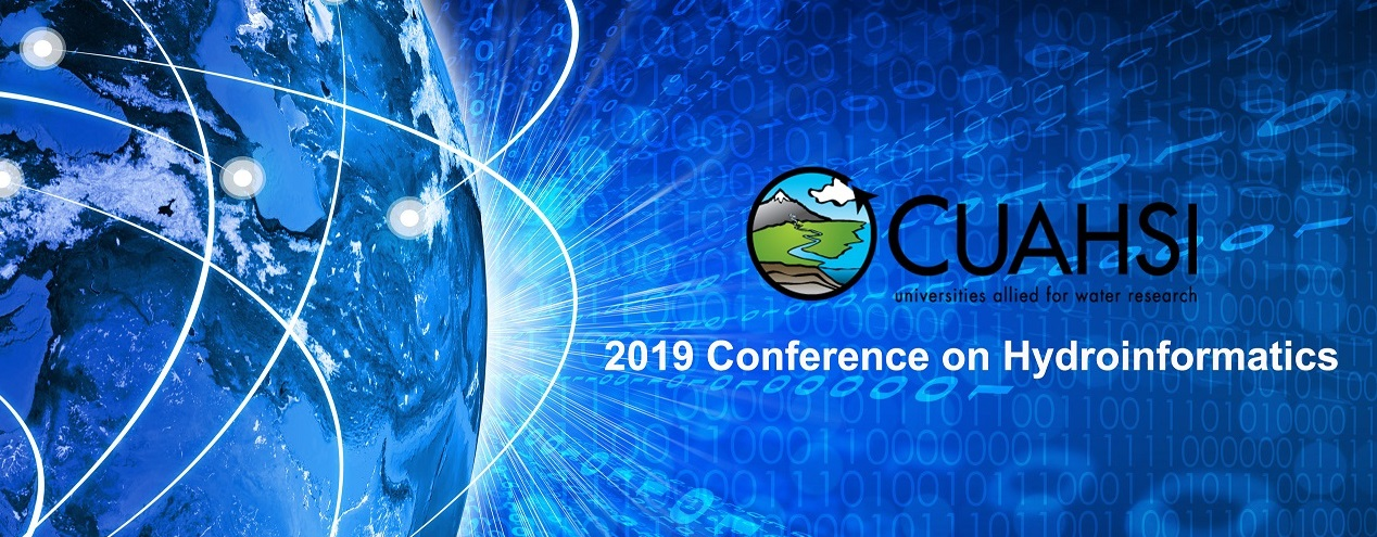 2019 CUAHSI Conference on Hydroinformatics