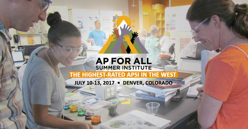 2017 AP for All Summer Institute