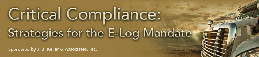 TEST Critical Compliance: Strategies for the E-Log Mandate