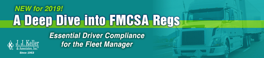 Deep Dive into FMCSA Regs - Seattle, WA 8/13/19