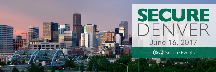 (ISC)² SecureDenver2017