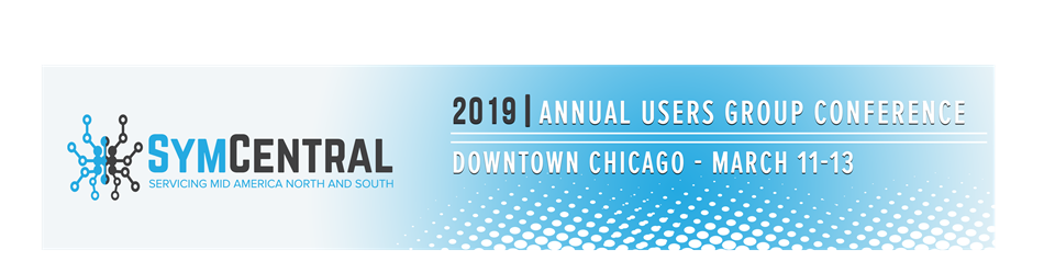 Symcentral 2019 Annual Users Group Conference