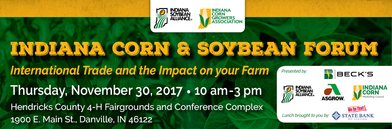 2017 Indiana Corn and Soybean Forum
