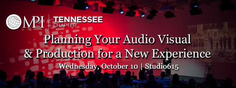 Planning Your Audio Visual & Production for a New Experience