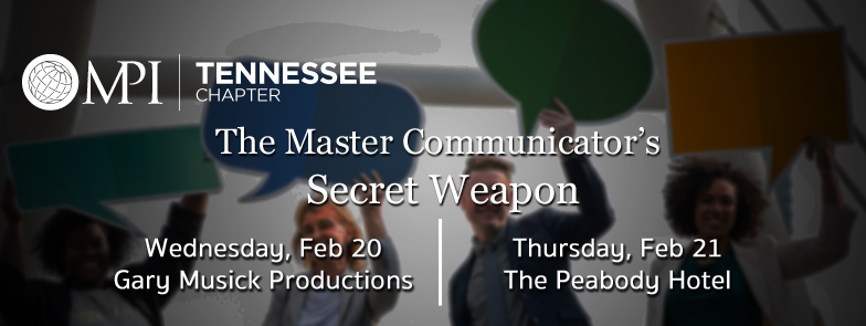 The Master Communicator's Secret Weapon