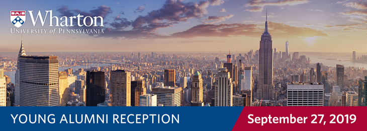 NYC Wharton Young Alumni Reception 2019