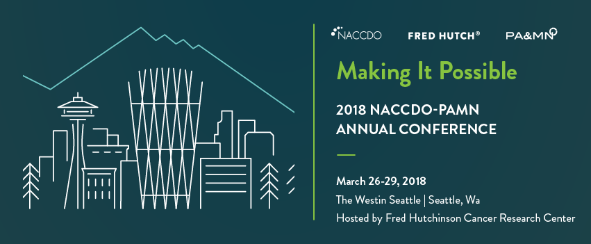 NACCDO-PAMN Annual Conference Fred Hutch 2018