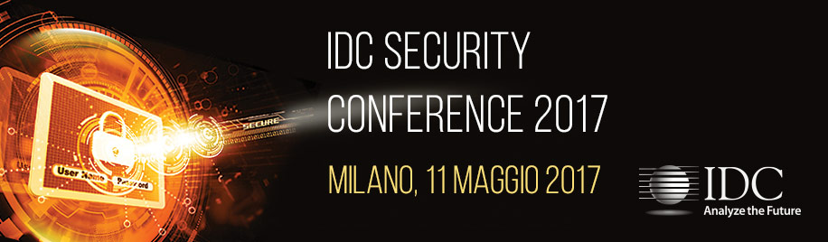 IDC SECURITY CONFERENCE 2017 - Italy