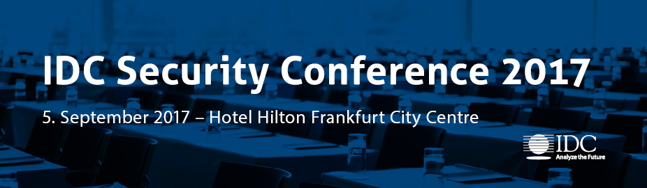 IDC Security Conference 2017 - Germany