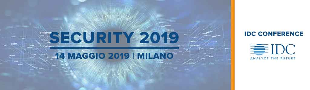 IDC Security Conference 2019 - Italy