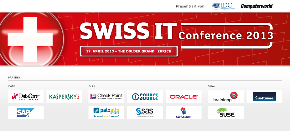 SWISS IT Conference 2013 - Switzerland