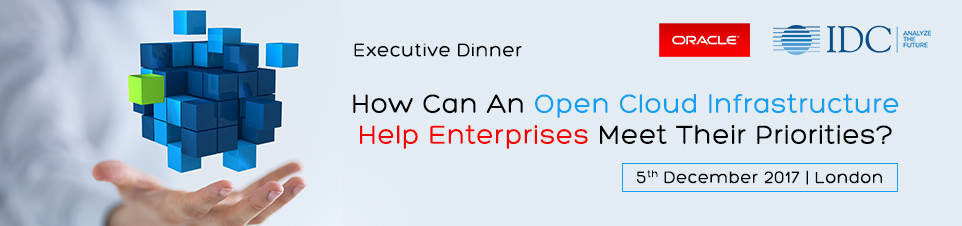 IDC and Oracle Executive Dinner
