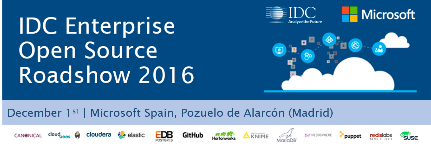 IDC and Microsoft Open Source Roadshow Spain