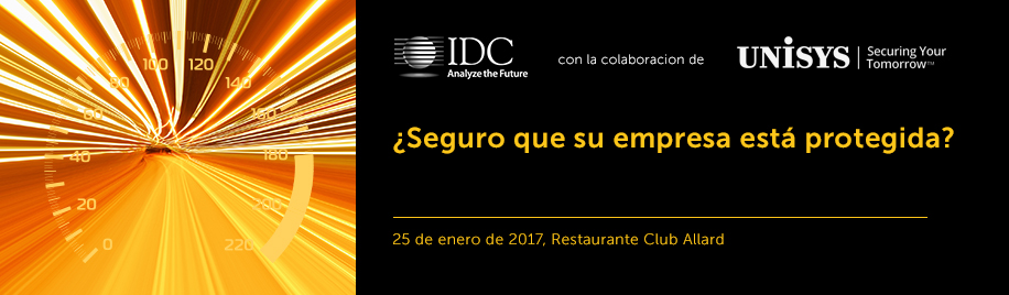 IDC Unisys Executive Lunch Madrid