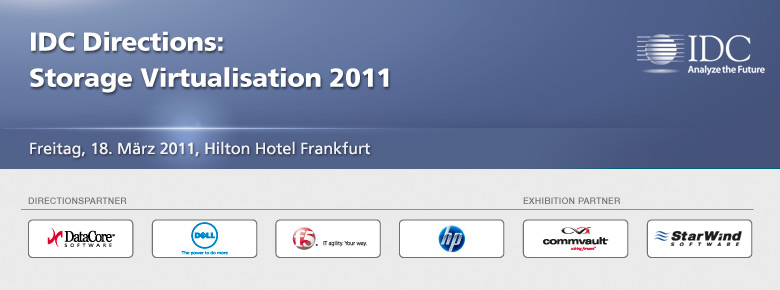 IDC Directions: Storage Virtualisation 2011