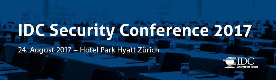 IDC Security Conference 2017 - Switzerland
