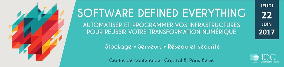 Conférence IDC : Software Defined Everything