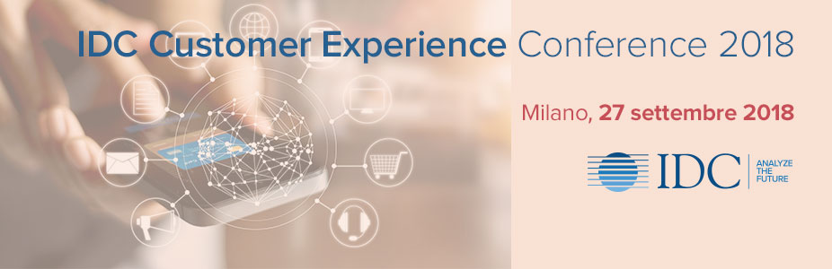 IDC Customer Experience Conference - Italy