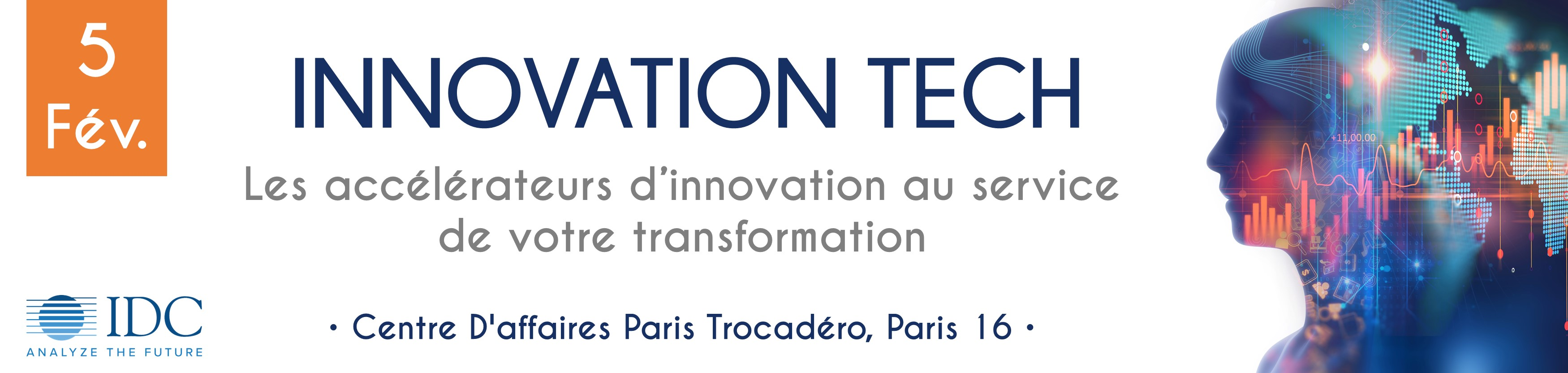 Conference IDC - Innovation Tech - 5 fevrier 2019