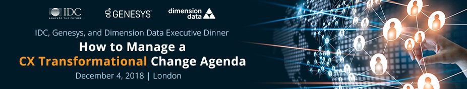 IDC, Genesys and Dimension Data Executive Dinner