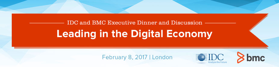 IDC and BMC Executive Dinner and Discussion 2017