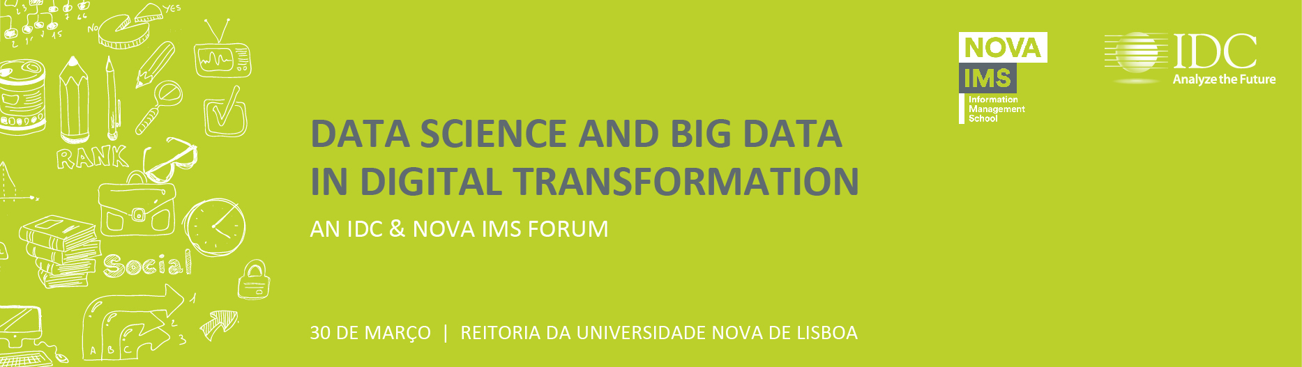 Data Science and Big Data in Digital Transformation | IDC & NOVA IMS Forum 2017