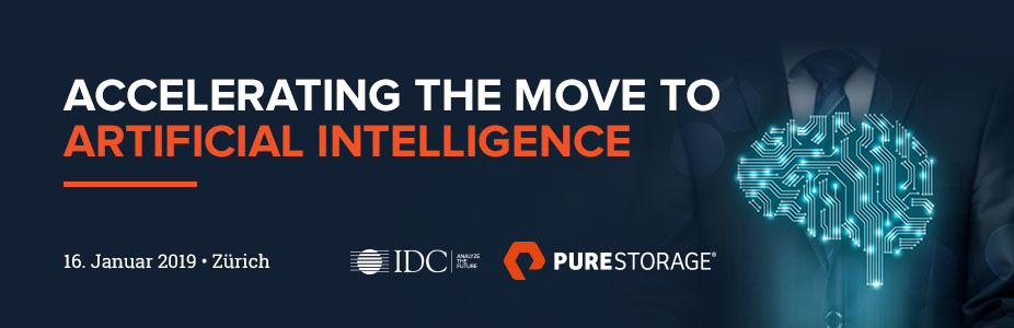 IDC Executive Dinner: Pure Storage 2019 Zürich