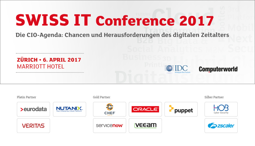 SWISS IT Conference 2017 - Switzerland