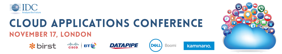 IDC's Cloud Applications Conference 2016