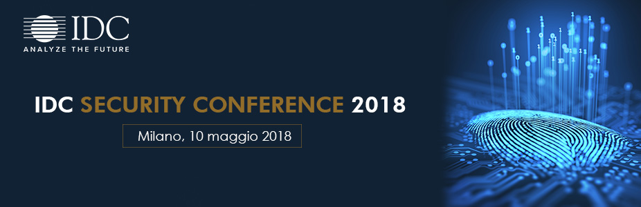 IDC SECURITY CONFERENCE 2018 - Italy