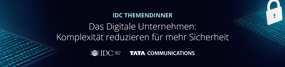 IDC Themendinner: Tata Communications 2019 München - Germany