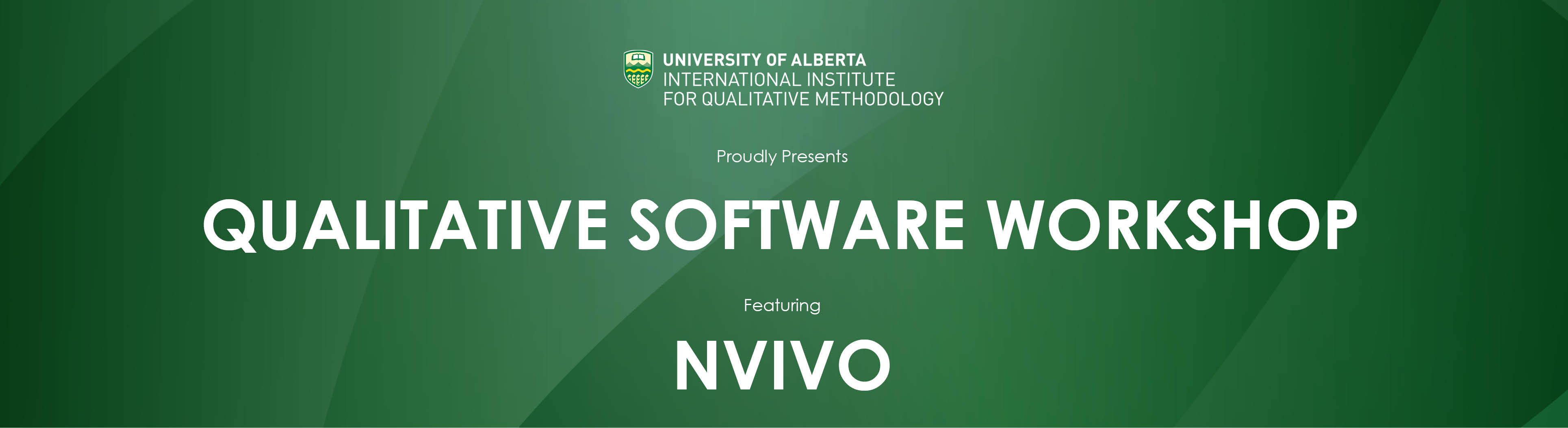 Qualitative Software Workshop featuring NVivo