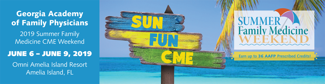 2019 Summer CME Family Medicine Weekend