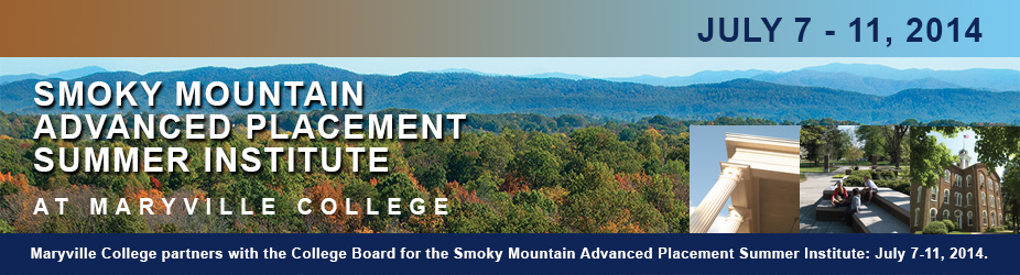 Smoky Mountain Advanced Placement Summer Institute