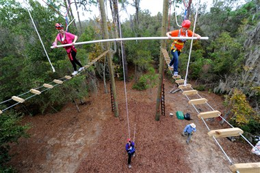 Team Building Ropes Course