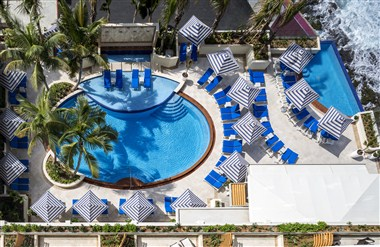 Main Pool and Plunge Pool