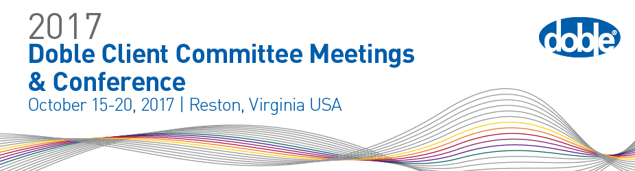 2017 Doble Client Committee Meetings & Conference