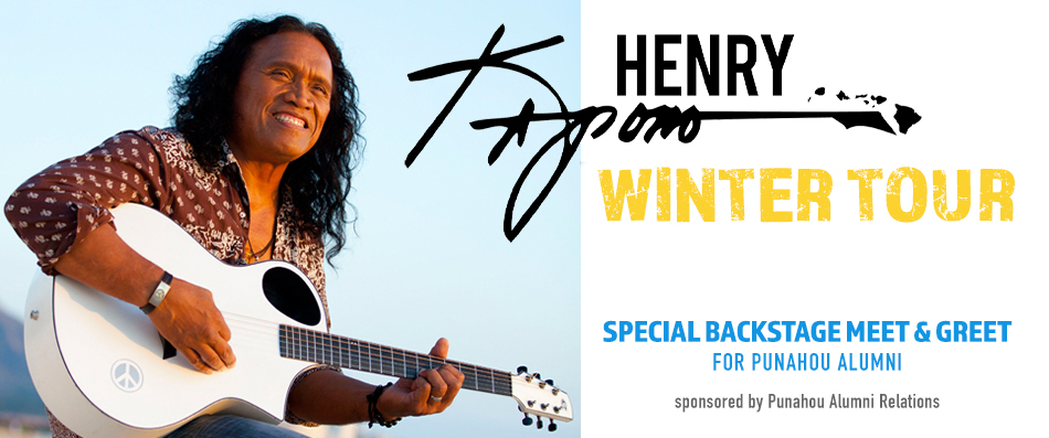 Henry Kapono Winter Tour