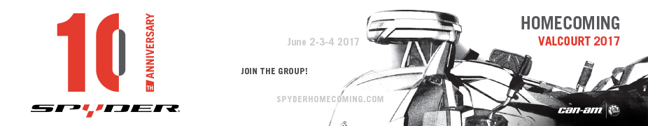 Can-Am Spyder 10th Anniversary Homecoming